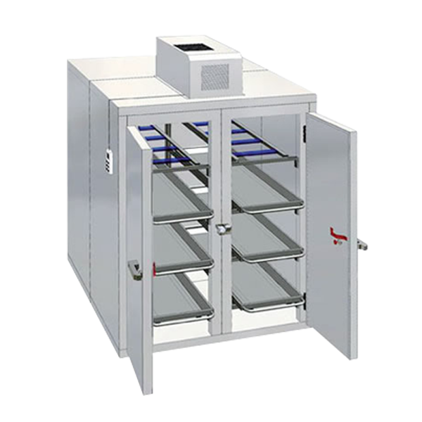8 Bodies 2 Doors Mortuary Chamber Package With Wall Mount Unit